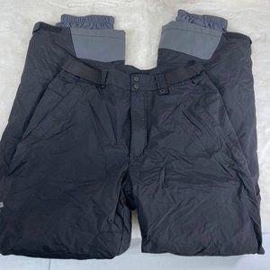 Columbia Ski Pants Insulated Mens Small Black